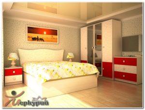 Спальня «Зафира» в Кузнецке