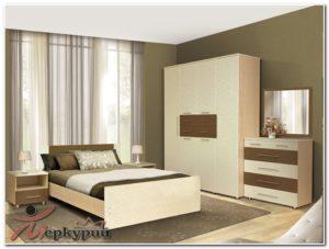 Спальный гарнитур «Ирга 1» в Кузнецке