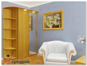 Шкаф 2-х с этажеркой
